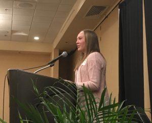2017 Inez Robb Scholarship recipient Alexandria Balzen