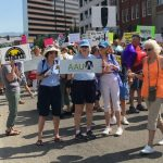 images from March for Healthcare, July 15, 2017
