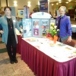Branch President Sylvia Chariton and Idaho Co-president Julie Custer, Andrus Center's Women and Leadership Conference, September 2016