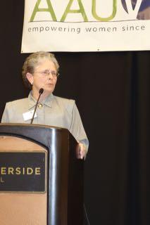 AAUW Boise President Julie Custer