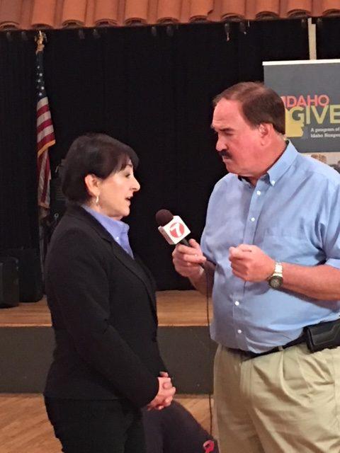 Larry Gebert interviews Sylvia Chariton